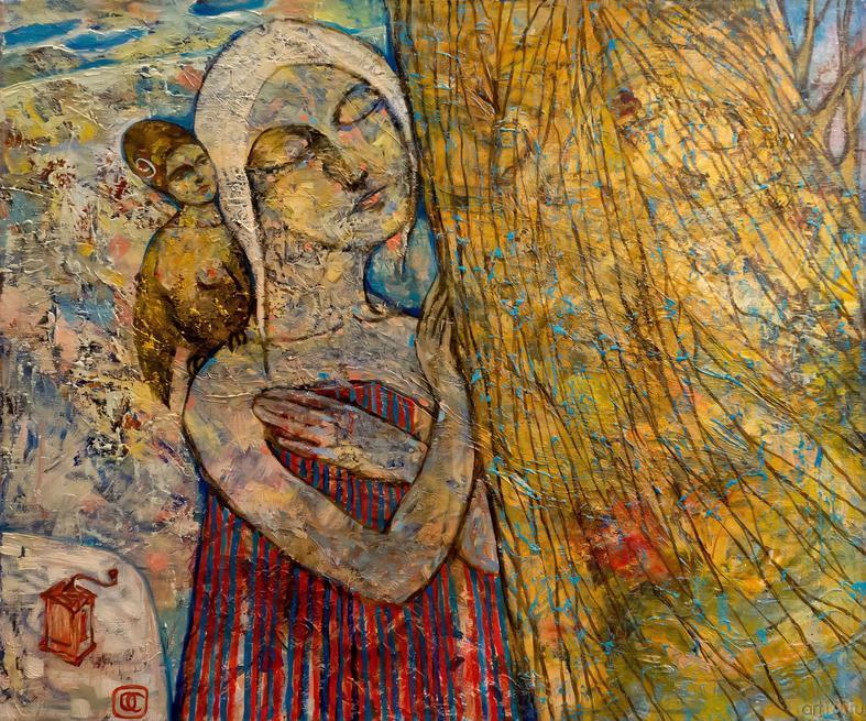 Дерево. О.Сушкова::Полдень. Выставка Ольги Сушковой и Светланы Зайцевой