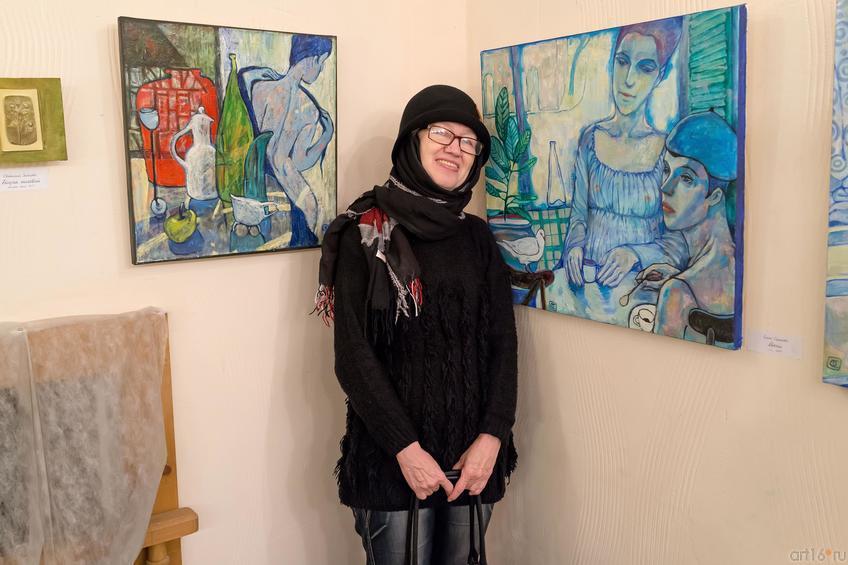 Ахунова::Полдень. Выставка Ольги Сушковой и Светланы Зайцевой