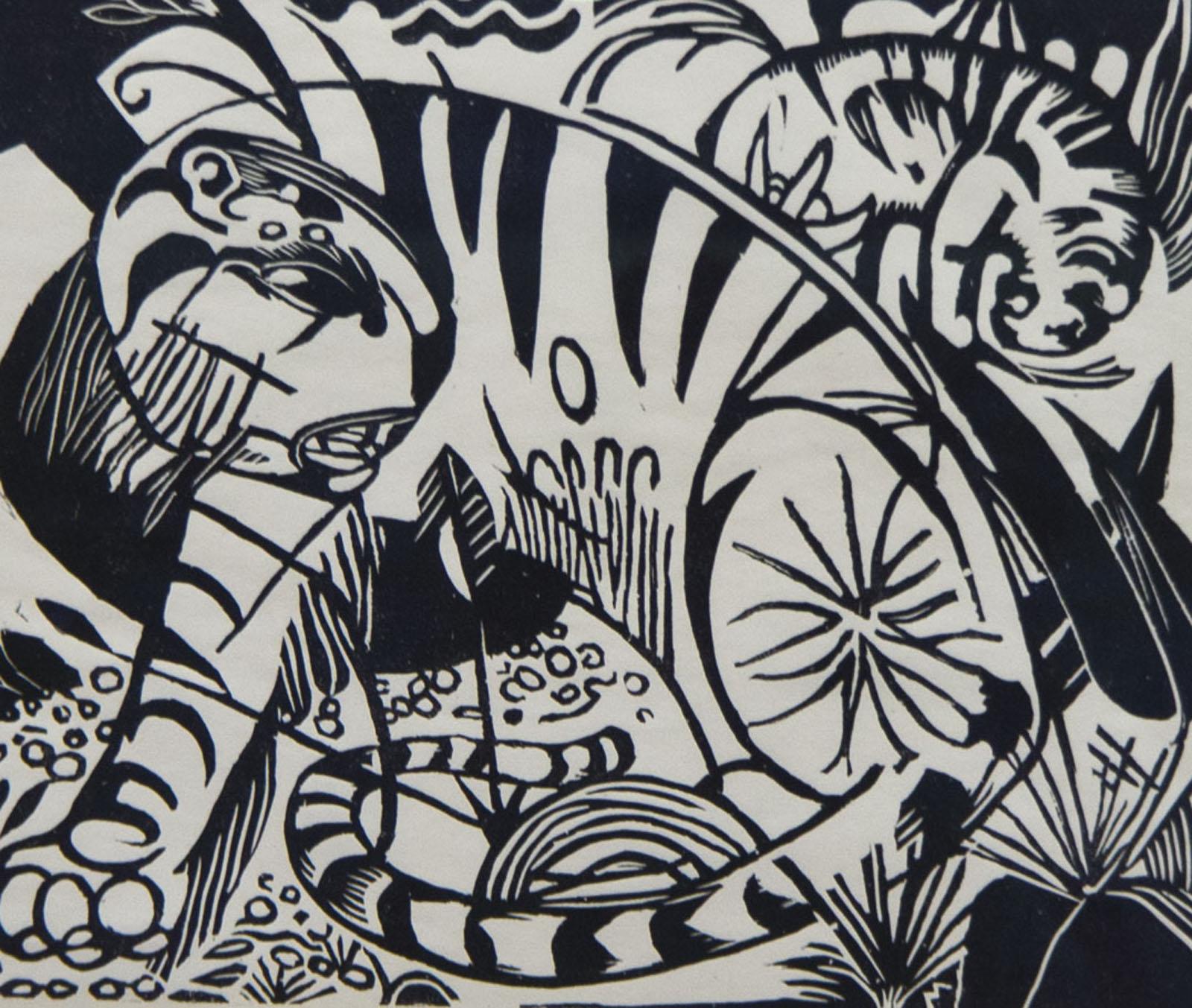 Фото №76677. Тигр. 1912. Франц Марк (1880-1916)