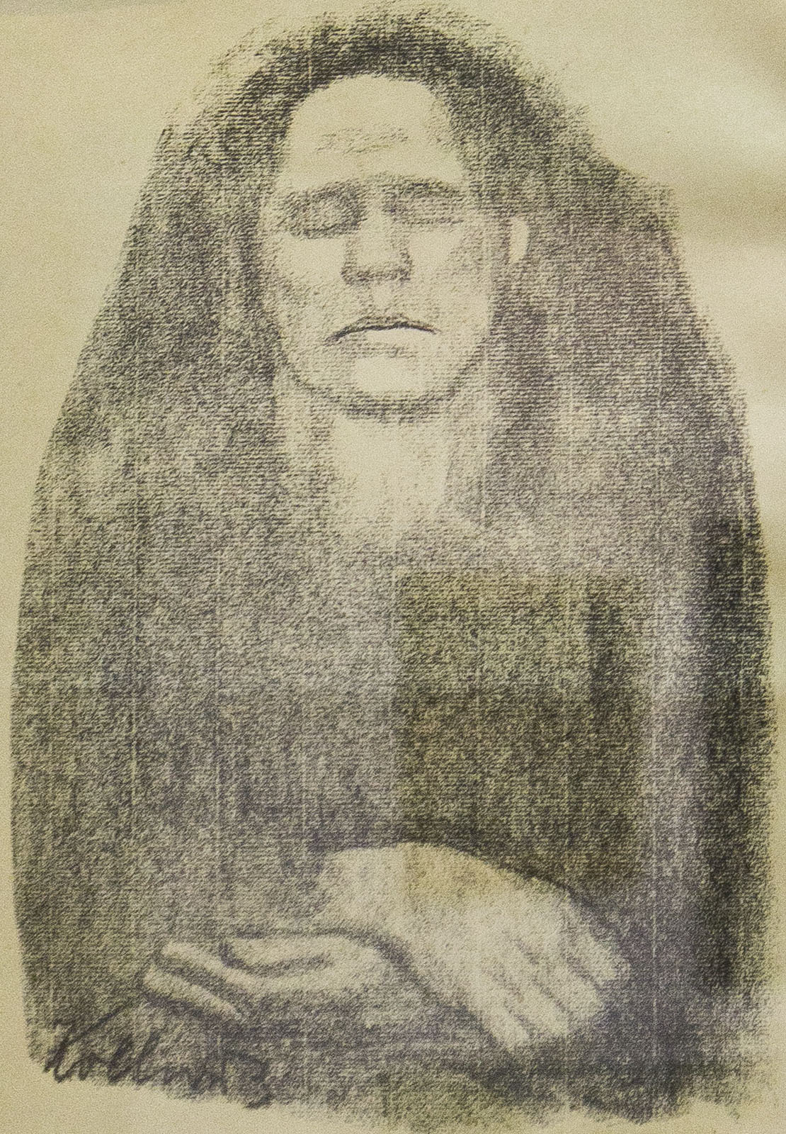 Фото №76682. Беспокойство. 1914. Кете Кольвиц (1867-1945)