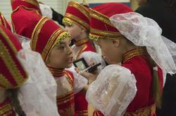 Участницы Народного ансамбля танца