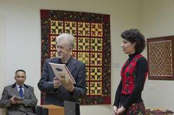 Зуфар Гимаев, Лия Залалтдинова на открытии выставки