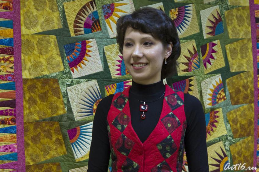 Фото №76834. Лия Залалтдинова, член Союза художников России и Республики Татарстан
