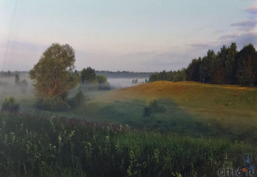 Пейзаж, рассвет. По дороге в Б.Матюшино (Лаишевский р-н, РТ)