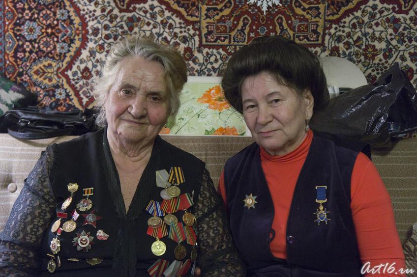Екатерина Яковлевна Шугаева, Накия Юсуповна Курбангалина::Шугаева (Симко) Екатерина Яковлевна