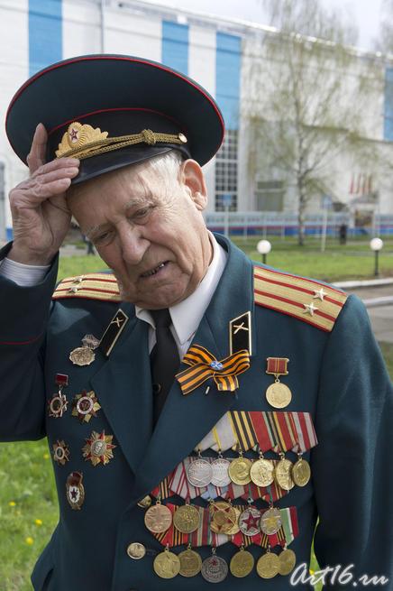 Ветеран Казанского вертолетного завода