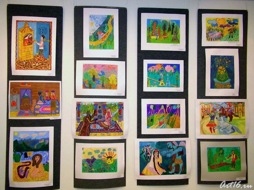 Фото №7707. Рисунки с выставки