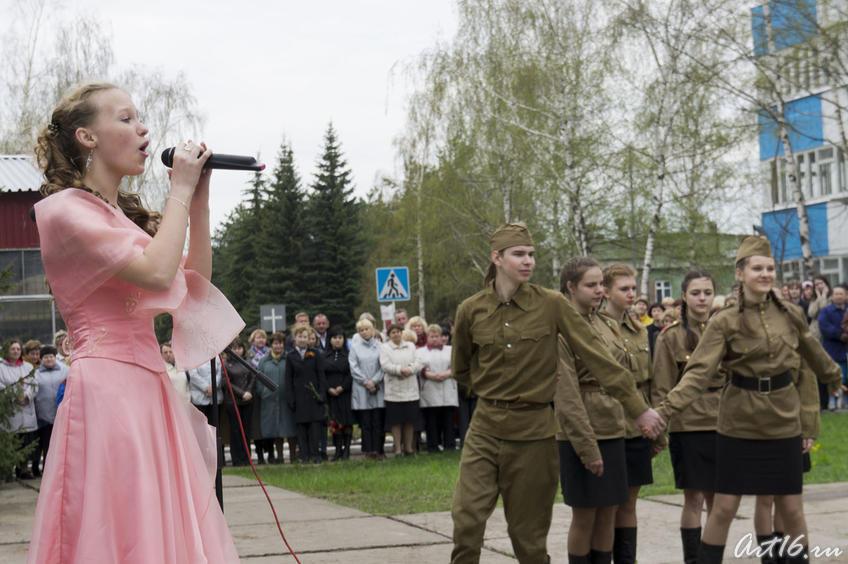 Литертурно-музыкальная композиция, посвященная Дню Победы