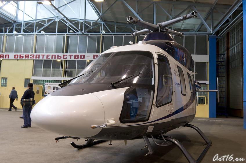 Гордость Казанского вертолетного завода — вертолет Ансат