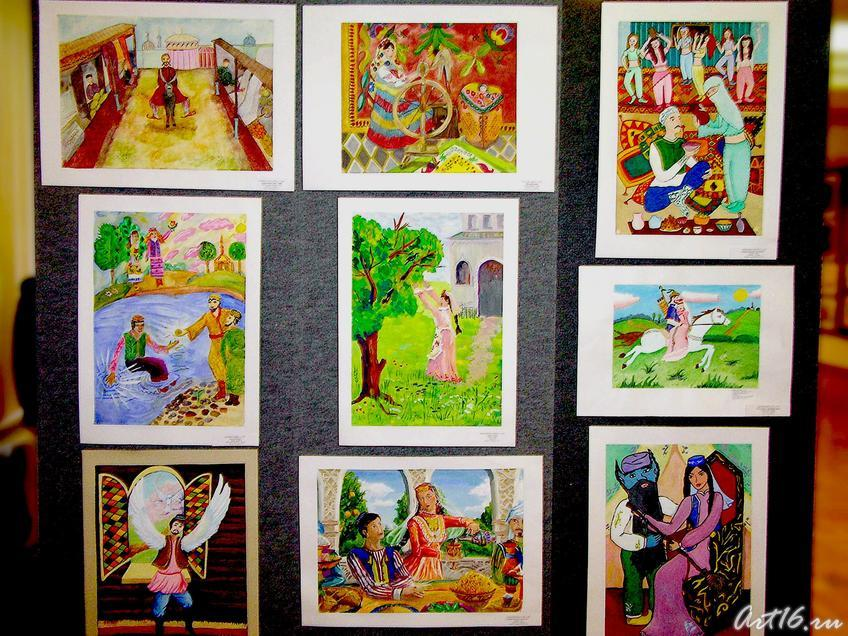 Фото №7717. Рисунки с выставки