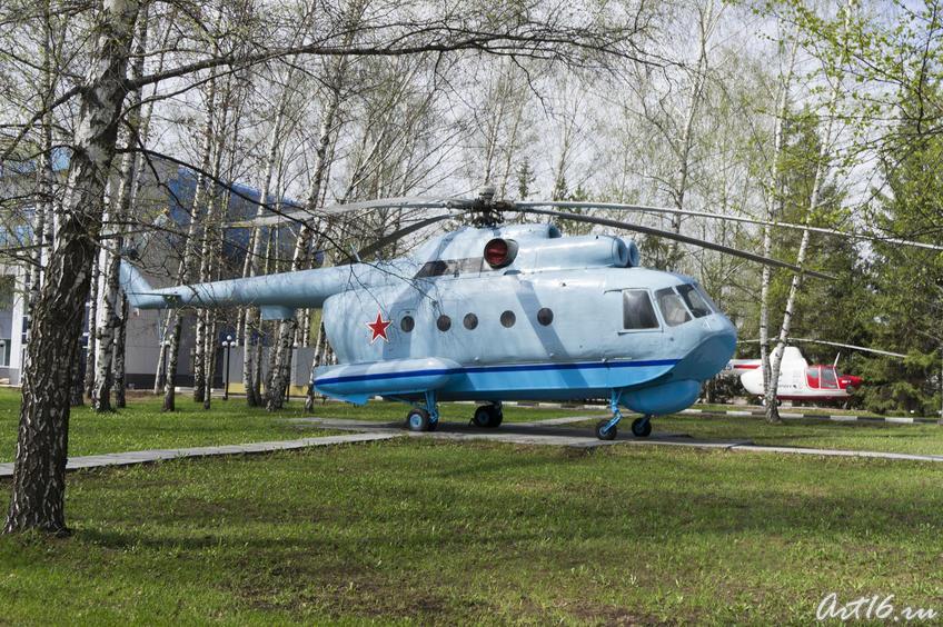 Вертолет у прходной