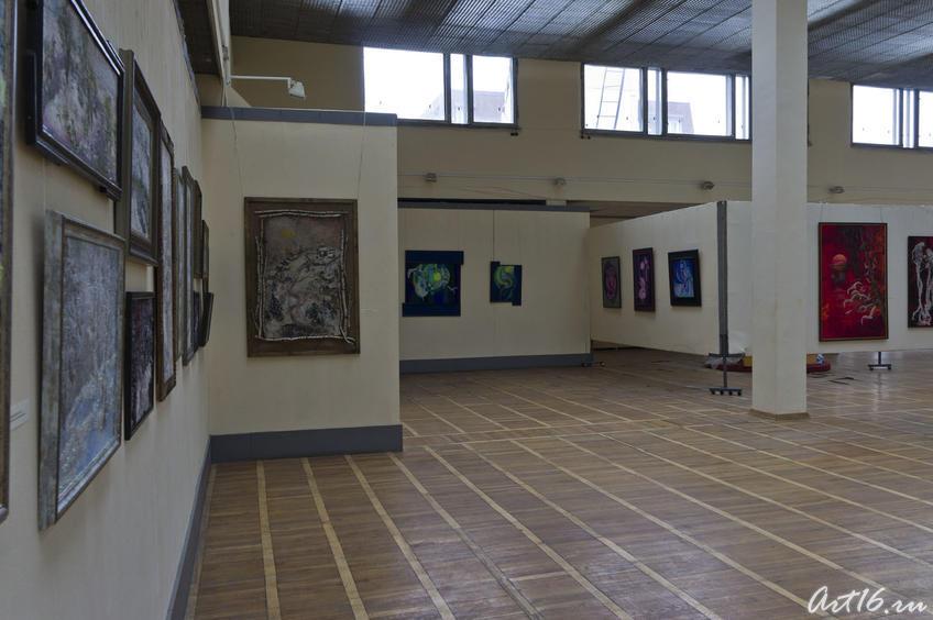 Фрагмент экспозиции Л.Кальюранд::«Май мой березовый», Кальюранд Ляля Мухамедовна