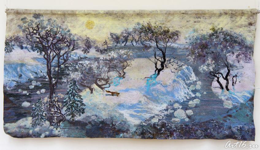 Зимний пейзаж, Л.Кальюранд, 2007