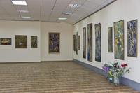 Выставка Л.Кальюранд «Май мой березовый». Общий план