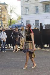 05225 показ одежды в этническом стиле дизайнера Тайны Сарафановой