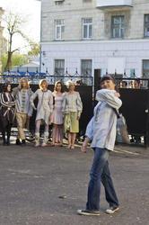05230 показ одежды в этническом стиле дизайнера Тайны Сарафановой