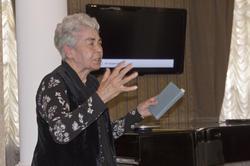 Лейла Фатыховна Каримова, дочь поэта- героя Фатыха Карима