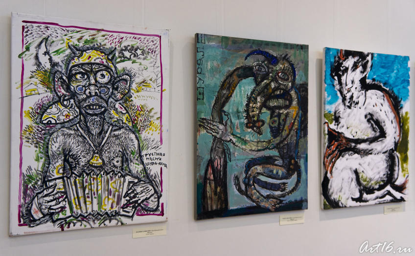 Фото №77844. Фрагмент экспозиции выставки ''Шурале и Я''