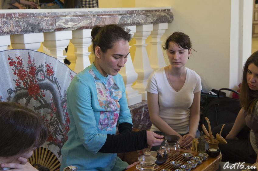 Фото №78009. Чайная церемония (китайская). Фестиваль чая в Национальном музее РТ