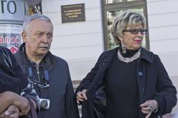 Владимир и Ирина Захаровы на экскурсии по Казанскому кремлю в