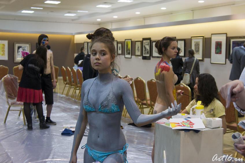 Фото №78034. Эксцентричное шоу-конкурс «Body-Art Battle» в Манеже