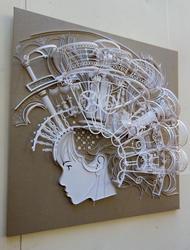 «Барокко», Кириллова К., 2010, бумагопластика