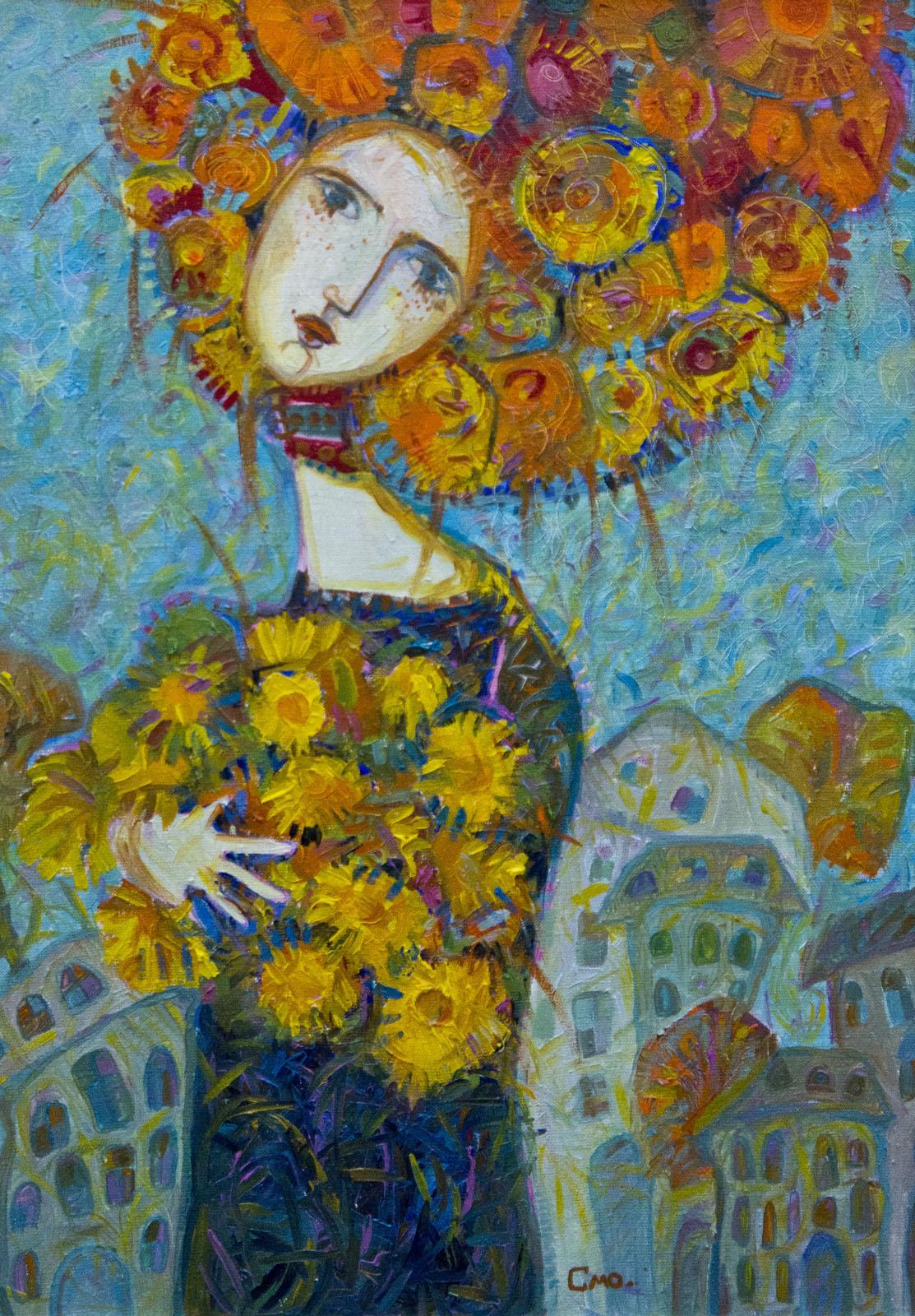 Фото №78084. «Осенняя», Смолина А., 2010, холст, масло