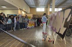 Граффити в Выставочном зале ГМИИ РТ
