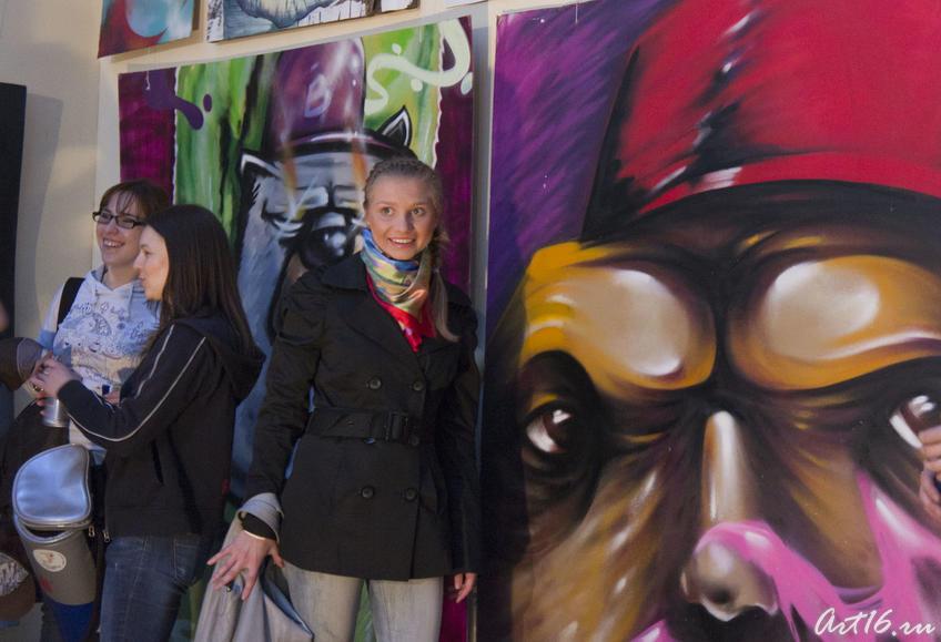 Фото №78109. Граффити в Выставочном зале ГМИИ РТ