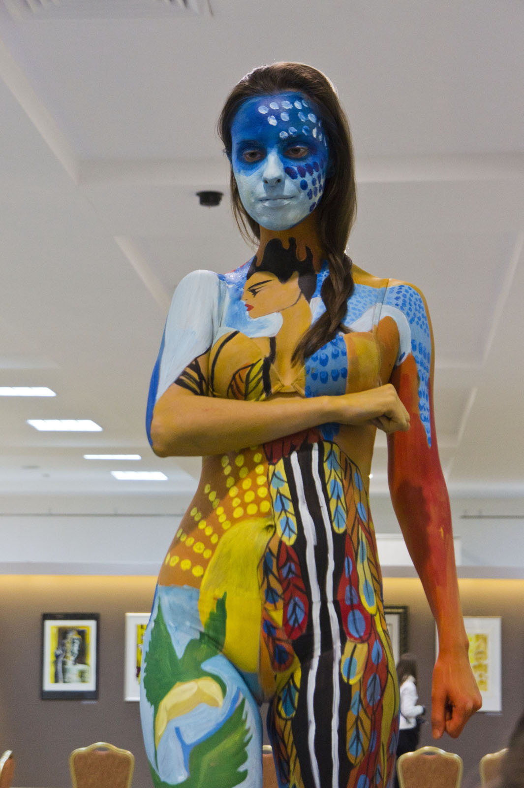 Фото №78144. Второе место в конкурсе «Body-Art Battle» в Манеже