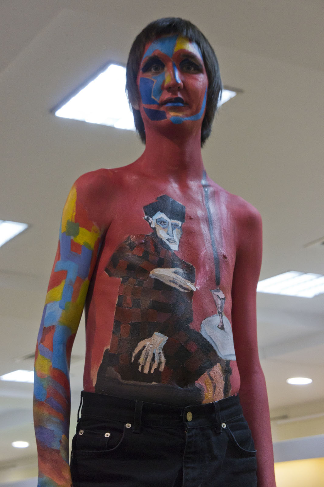 Фото №78149. Третье место в конкурсе «Body-Art Battle» в Манеже