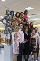 Модели, мастера, ангелы-вдохновители и хозяйка Манежа «Body-Art Battle»