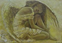 Анастасия Бузунеева: «Как ангелы», живопись