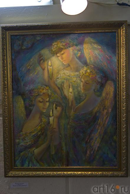 В ночь на Ивана Купала. Анастасия Бузунеева (Анастас)::Анастасия Бузунеева: «Как ангелы», живопись