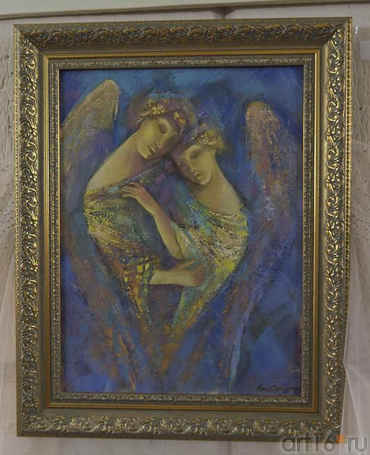 Сон влюбленных.  Анастасия Бузунеева (Анастас)::Анастасия Бузунеева: «Как ангелы», живопись