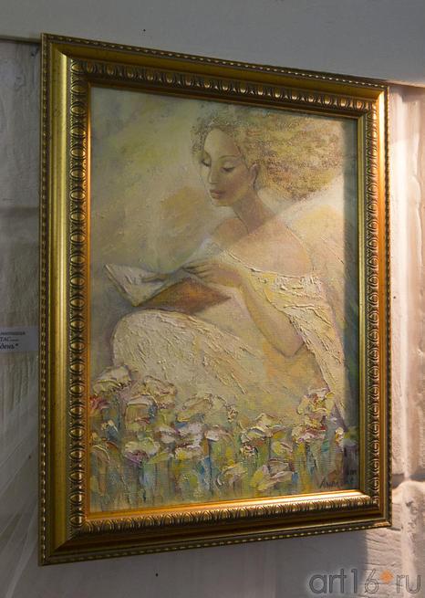 В полдень.  Анастасия Бузунеева (Анастас)::Анастасия Бузунеева: «Как ангелы», живопись