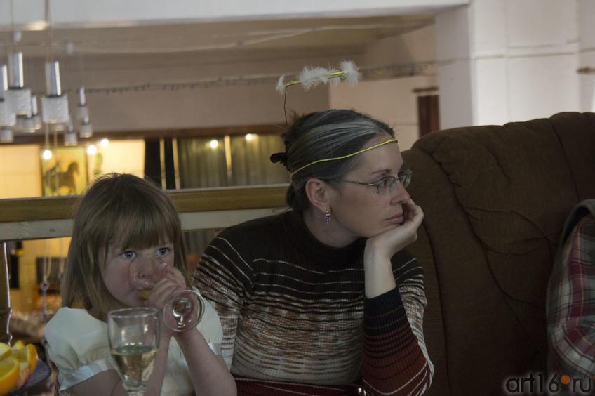 Ангелы в гостях у Анастасии Бузунеевой::Анастасия Бузунеева: «Как ангелы», живопись