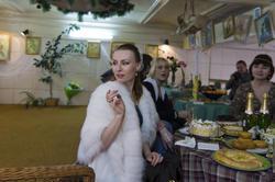А. Бузунеева. Открытие выставки в галерее ''Эбиволь''