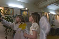 Два Ангела (слева, Ангелочек Анастасии)