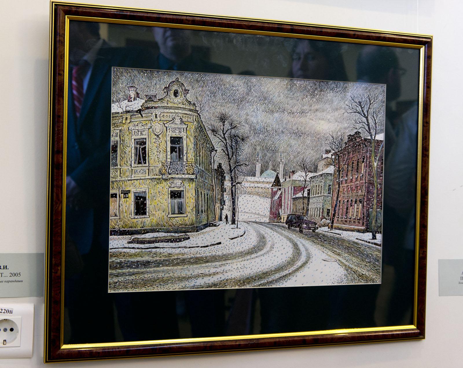 Фото №78538. А снег идет.... 2005. Ильин В.И.