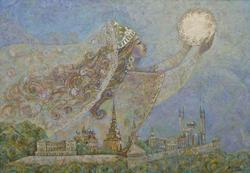 Рассвет  над Казанью. 2010. Анастасия Бузунеева