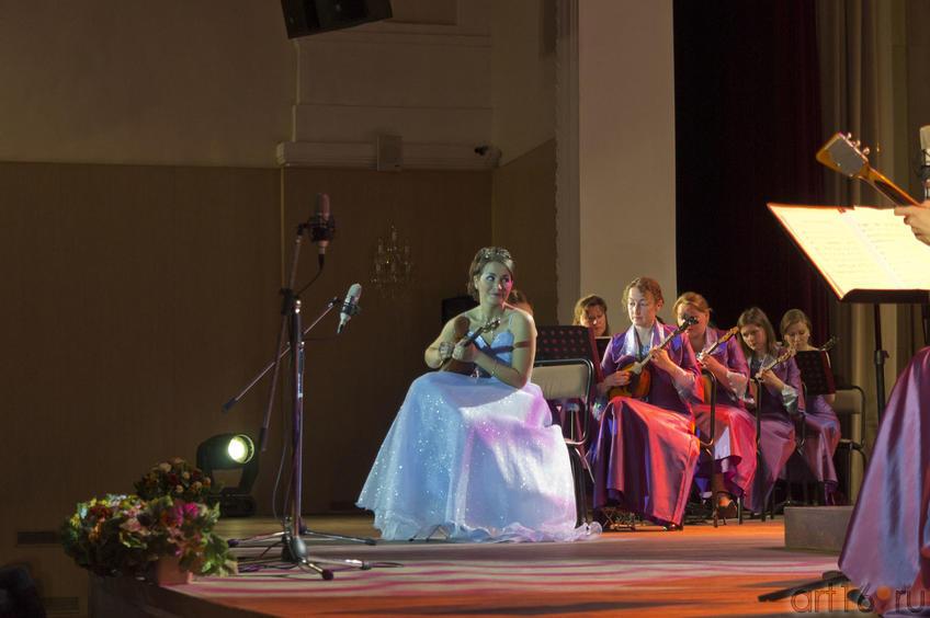 Мария Сахнова (домра)::Государственный оркестр народных инструментов РТ