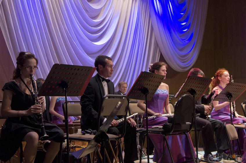 Оркестранты. Выступление Государственного оркестра народных инструментов РТ