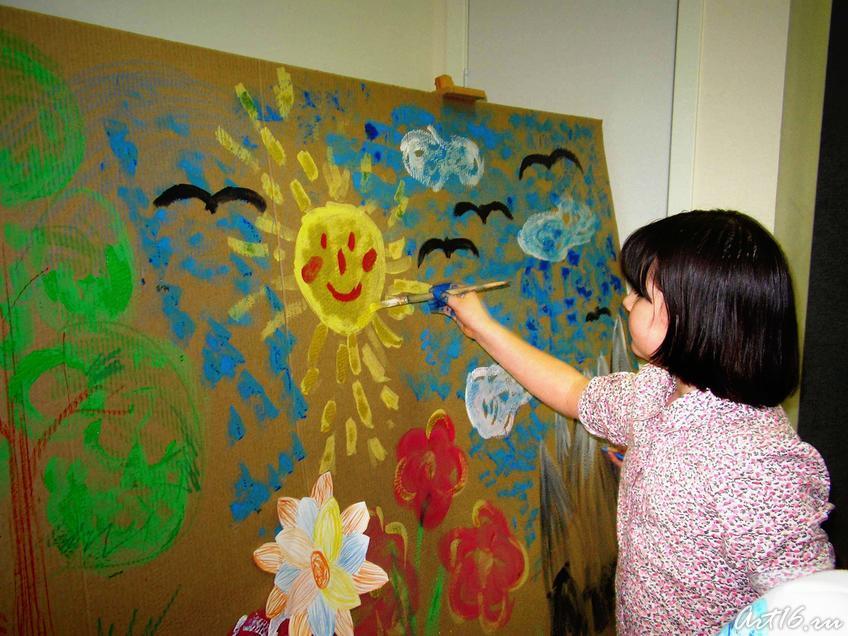 Фото №7902. ''Дети рисуют сказки''