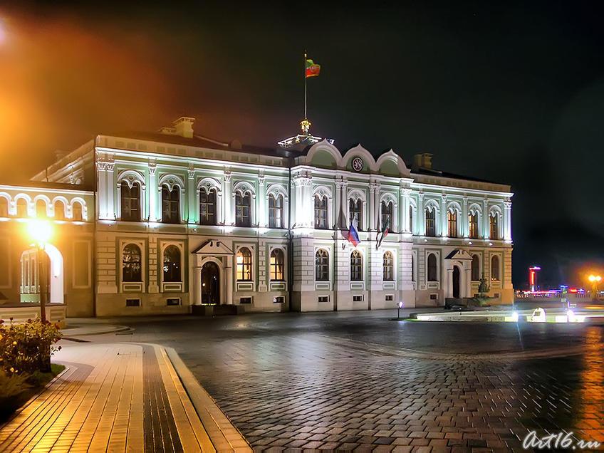 Резиденция Президента РТ (быв. Губернаторский дворец), 2008г.::Казанский Кремль. Ночь. 2009г.