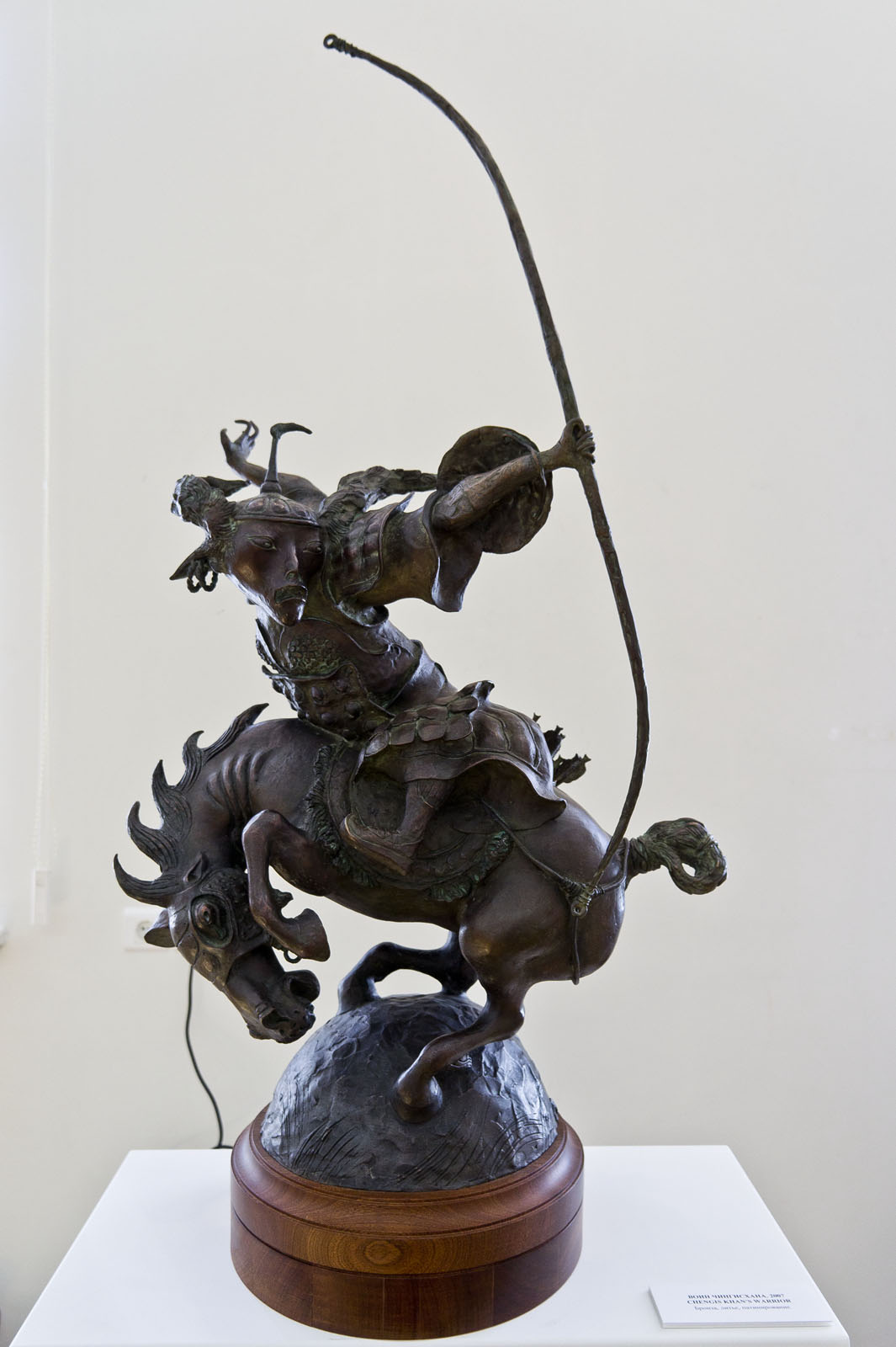 Фото №79179. Воин Чингисхана. 2007. Даши Намдаков