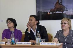 Розалия Нургалеева, Даши Намдаков, Надежда Комарова