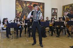 Концерт в честь открытия выставки