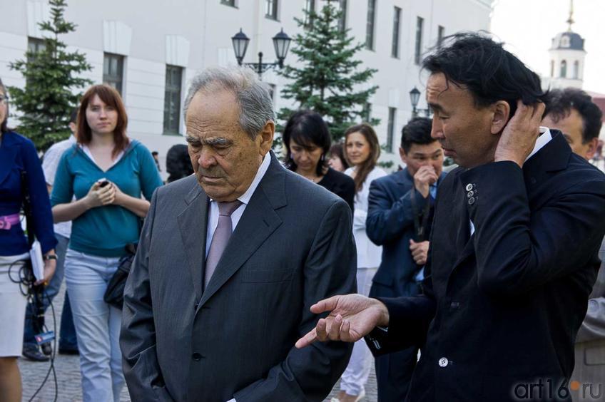 Фото №79239. Минтимер Шарипович Шаймиев и Даши Намдаков