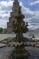 Фонтан в Губернаторском дворце Казанского кремля